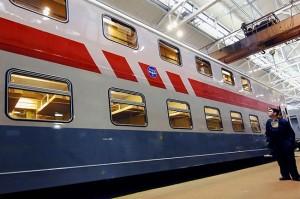 Новости от РЖД: Двухэтажный пассажирский поезд начал курсировать между Москвой и Воронежем