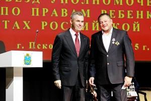 Павел Астахов и Эдуард Аракелянц