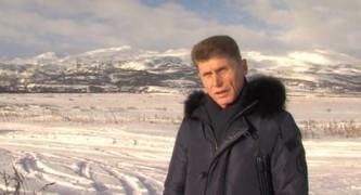Олег Кожемяко на Парамушире