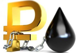 Российская нефть прочно привязывается к рублю