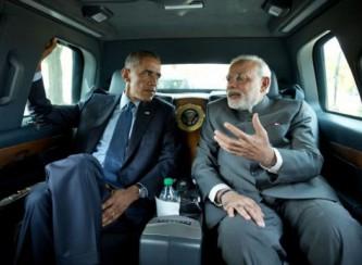 Главы США и Индии