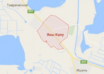 Карта Крыма от Гугла