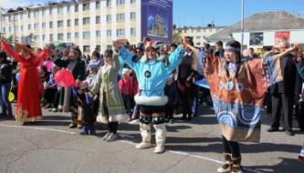 Празднование 300-летия поселка Ола Магаданской области