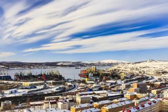 Порт Мурманск