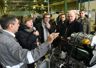 Посол Франции в России посетил АВТОВАЗ