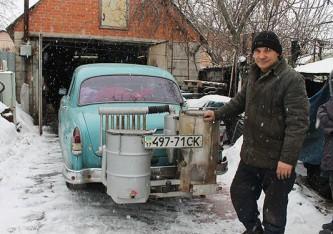 Волга на дровах