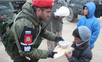 Чеченские военные в Сирии