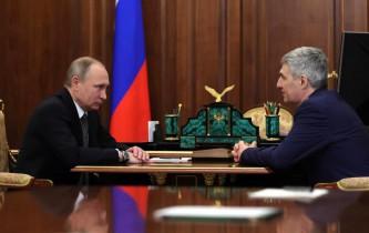 Владимир Путин и Артур Парфенчиков