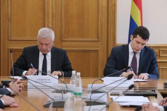 Вагит Алекперов и Антон Алиханов