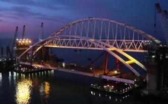 Керченский мост, автомобильная арка