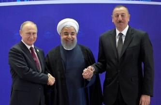 Путин, Рухани и Алиев